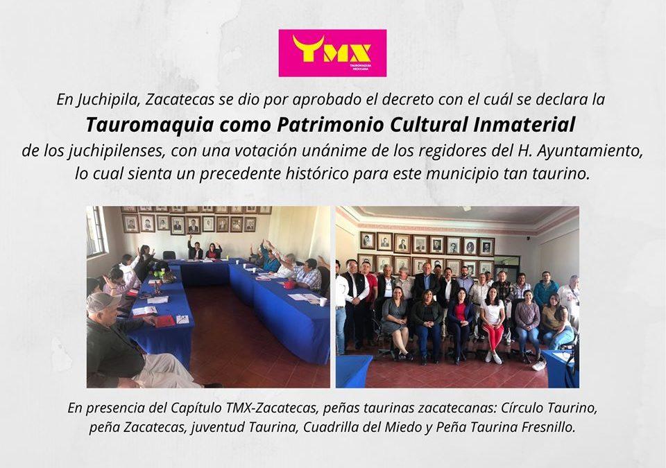 En Juchipila, Zacatecas, se declara la Tauromaquia como Patrimonio Cultural Inmaterial