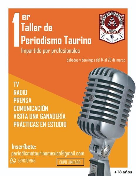 1er Taller Periodismo Taurino