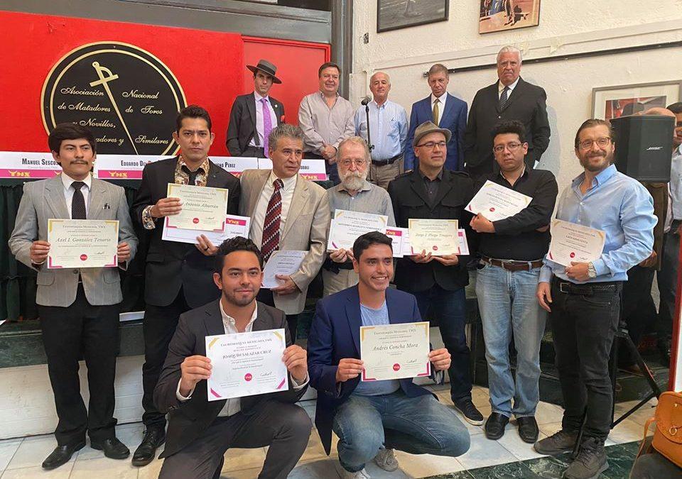TMX. Comunicado Premiación 1er Concurso de Ensayo ¿Por qué es vigente la Tauromaquia?