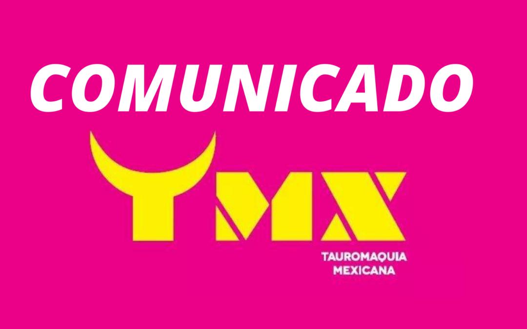 Comunicado de Prensa Puebla. TAUROMAQUIA MEXICANA APELA A UN DEBATE  ABIERTO E INCLUYENTE EN TORNO A LA FIESTA BRAVA