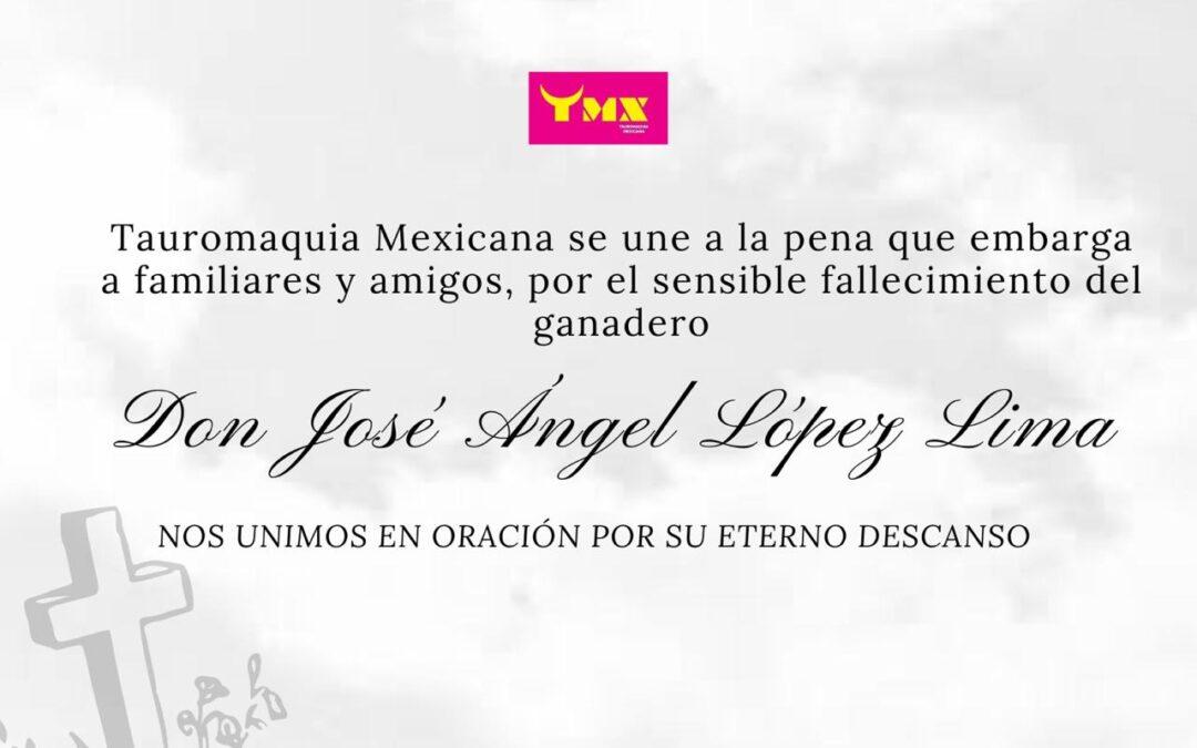 esquela Don Jose Angel Lopez Lima