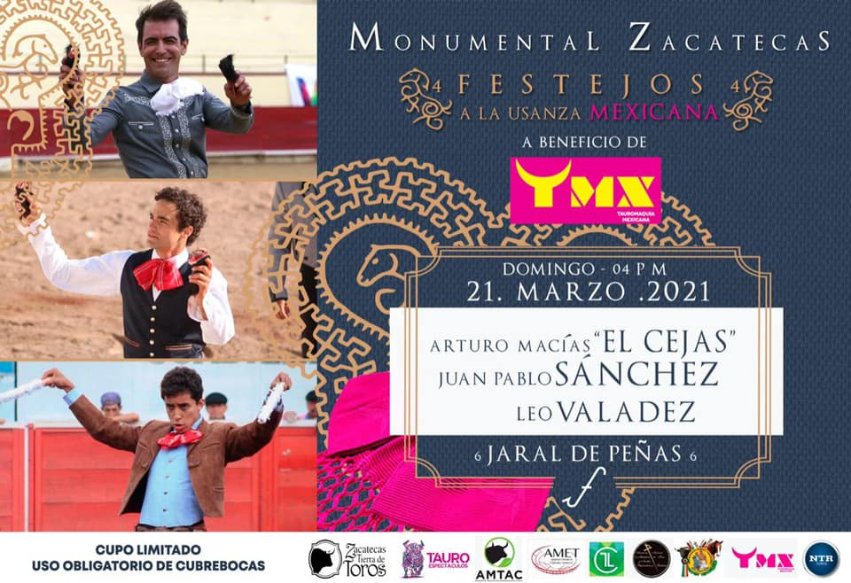 🔸Ciclo de Festejos: Presente y futuro de la Tauromaquia y cultura mexicana.  #FestejosBeneficos #ApoyoALaTauromaquia