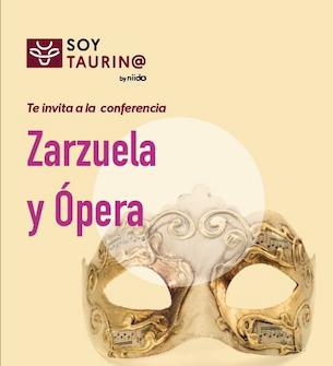 """SoyTaurin@ dentro del #ciclo """"Música y Toros"""", te invita a la conferencia: 🟡 ZARZUELA Y ÓPERA  🎶"""