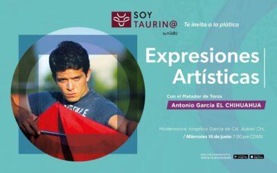 SoyTaurin@ te invita a la plática:  EXPRESIONES ARTÍSTICAS