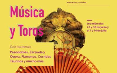 SoyTaurin@ te invita al ciclo de conferencias: MÚSICA Y TOROS:  Pasodobles, Zarzuela y Ópera, Flamenco, Corridos Taurinos y mucho más…