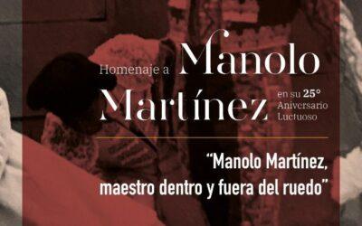 🟣 HOMENAJE A MANOLO MARTÍNEZ EN SU 25• ANIVERSARIO LUCTUOSO🟣 3RA CONFERENCIA