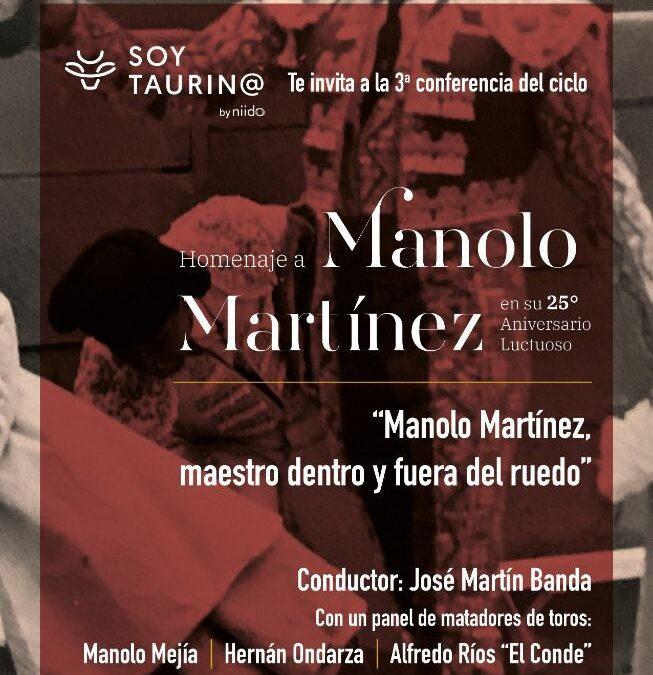 3RA CONFERENCIA HOMENAJE MANOLO MARTIINEZ