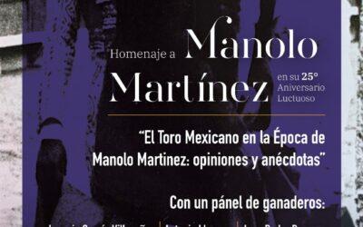 🟣 HOMENAJE A MANOLO MARTÍNEZ EN SU 25• ANIVERSARIO LUCTUOSO🟣 5TA CONFERENCIA